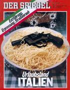 Pistole auf Spaghetti